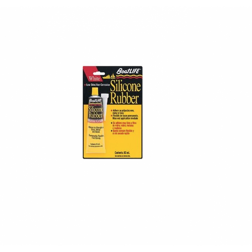 Boat Life Marine Silicone Sealant Clear/Black 2.8 Oz.