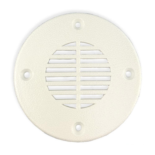 TH Marine Floor Drain and Vent White