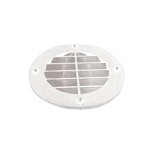 TH Marine Louvered Vent Cover White