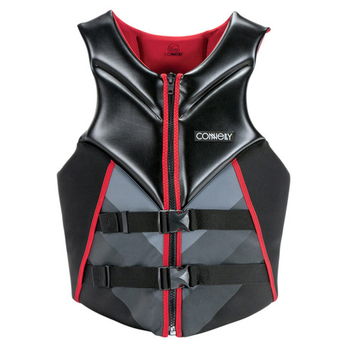 Connelly Men's Concept Neoprene Life Jacket Red/Black Front