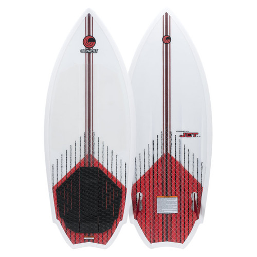 "2020 Connelly Jet Wakesurf Board 4' 10"" Top and Bottom view"