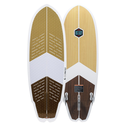 "2020 Connelly Big Easy 5' 6"" Wakesurf Board Top and Bottom"