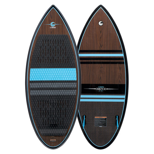 2020 Connelly Benz Wakesurf Board Top and Bottom