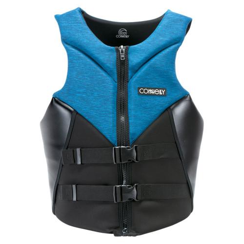 Connelly Aspect Men's Neoprene Life Jacket 2020 Blue/Black Front