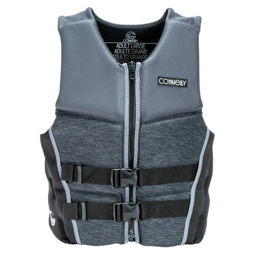 Connelly Classic Men's Neoprene Life Jacket 2020 Gray/Black Back