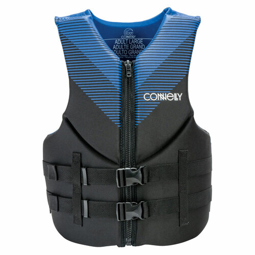 Connelly Promo Men's Neoprene Life Jacket Blue Front
