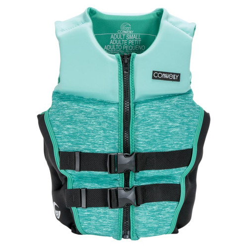 Connelly Classic Women's Neoprene Life Jacket 2020 Teal Front