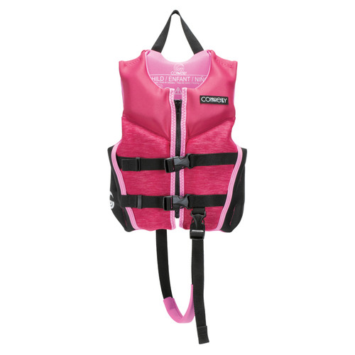 Connelly Classic Girl's Child Neoprene Life Jacket Front