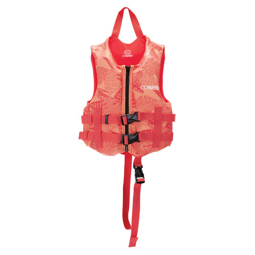 Connelly Promo Girl's Child Neoprene Life Jacket Front