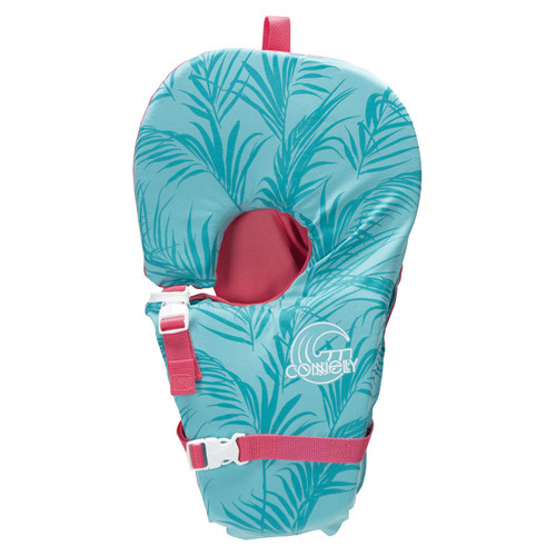Connelly Babysoft Girls Infant Nylon Life Jacket