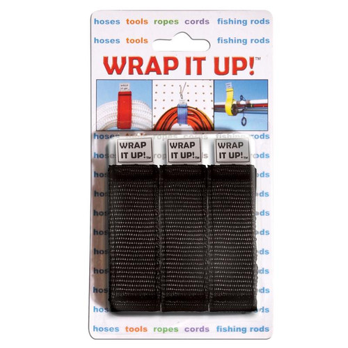 Airhead Wrap It Up Straps Black 3-Pack