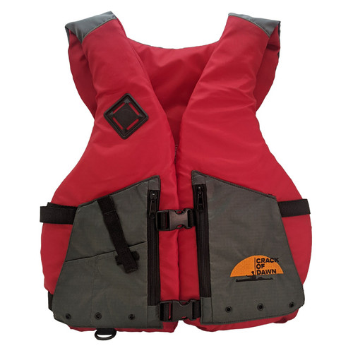"Crack of Dawn Adult Nylon Life Jacket - Universal 40""-60"" Chest Front"