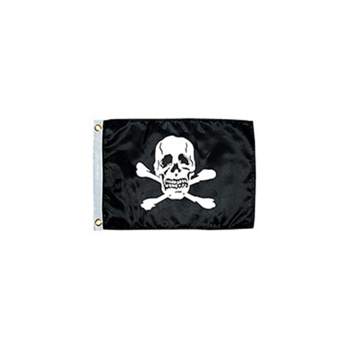 "Taylor Made Jolly Roger Novelty Design Flag 12""x18"""