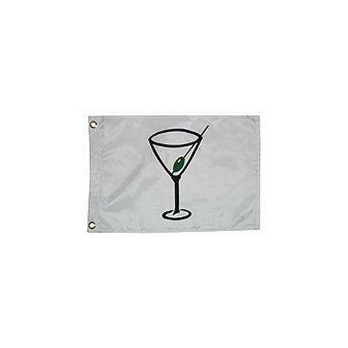 "Taylor Made Cocktail Novelty Design Flag 12"" x 18"""