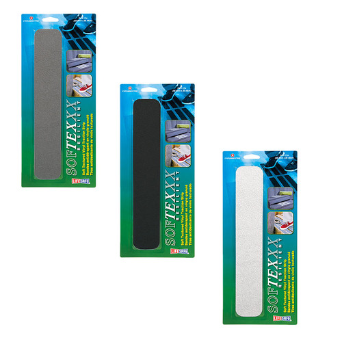 "SoftTex Textured Anti-Slip Strip 2"" x 12"" 6 Pack"