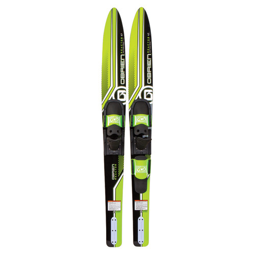O'Brien Reactor Combo Waterskis Front