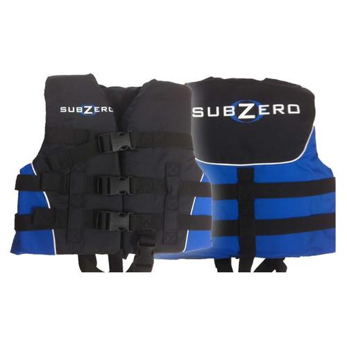Sub Zero Child Nylon Life Jacket  30 to 50 lbs. Blue