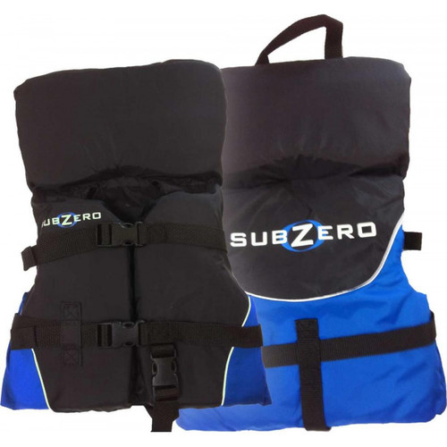 Sub Zero Infant Nylon Life Jacket  Up to 30 lbs. Blue