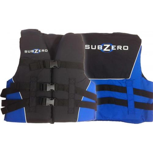 Sub Zero Youth Nylon Life Jacket 50 to 90 lbs. Blue
