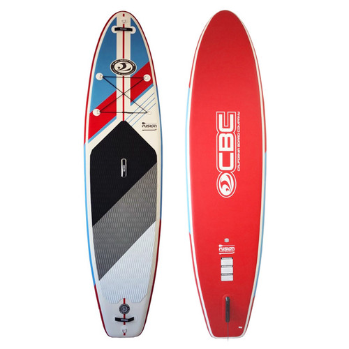 CBC 11ft Fusion Inflatable Stand Up Paddleboard Package