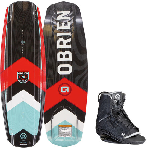 O'Brien Format Wakeboard With Border Boots 2020
