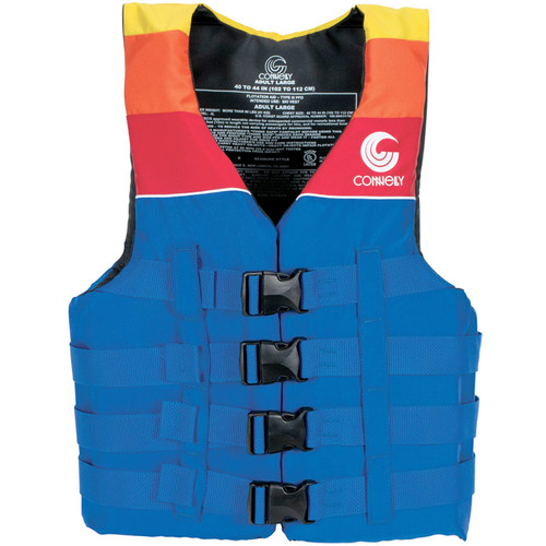 Connelly Men's 4-Belt Retro Nylon Vest Front
