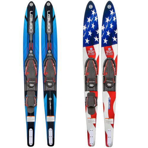 O'Brien Celebrity Combo Waterskis W/ X-7 Bindings 2021
