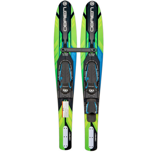O'Brien Jr. Vortex Combo Waterskis With Jr X-7 Bindings 2021