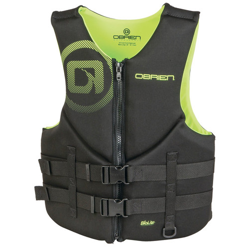 O'Brien Men's Traditional Neoprene Life Vest Yellow/Black