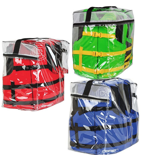 O'Brien Nylon Life Jacket Four Pack