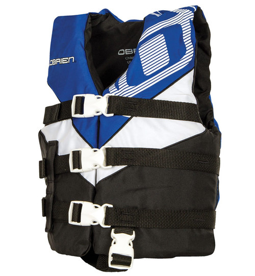 O'Brien Boys Child Nylon Life Vest Blue/Black
