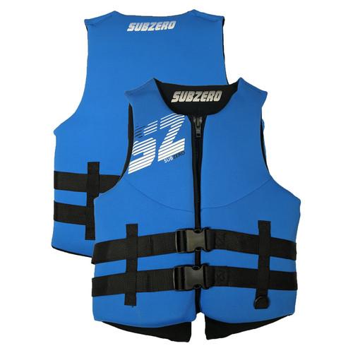 Sub Zero Men's Neoprene Life Jacket Blue/Black