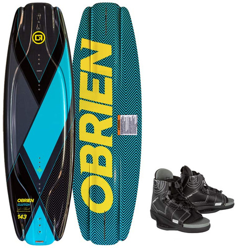 O'Brien Clutch Wakeboard With Clutch Boots 2021