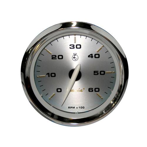 "Faria 6000 RPM Tachometer Inboard & I/O Kronos 4"""