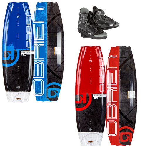 O'Brien System Wakeboard With Clutch Boots 2021