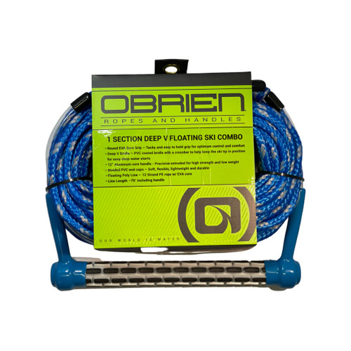 O'Brien Easy-Up 1-Section Deep V Floating Combo Waterski Rope