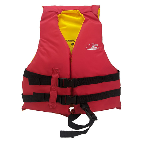 Crack of Dawn Child Nylon Life Jacket 30-50 Lbs Front