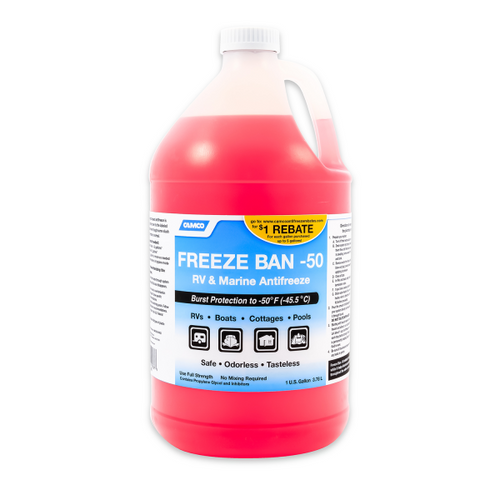Camco Freeze Ban Antifreeze -50 Degrees