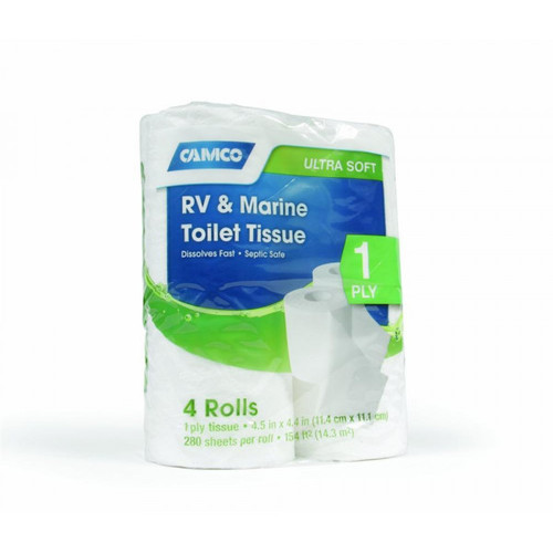 Camco RV & Marine 2-Ply Toilet Tissue 4/pack
