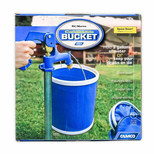 Camco Collapsible Bucket 5 Gallons  retail package in box