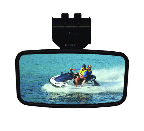 "CIPA Safety 4"" x 8"" Rearview Marine Mirror - front"