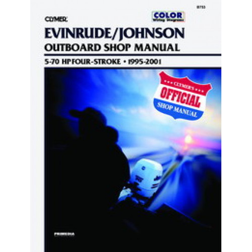 Clymer 1995-2001 Evinrude/Johnson 4-Stroke 5-70HP Outboard Repair Manual
