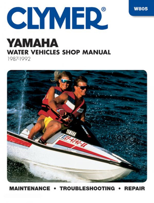 Clymer 1987-1992 Yamaha PWC Repair Manual