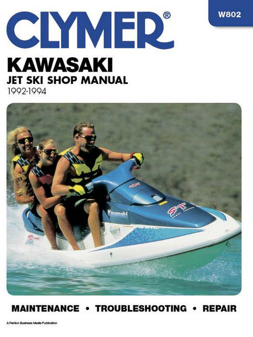 Clymer 1992-1994 Kawasaki Repair Manual