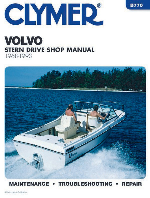 Clymer 1968-1993 Volvo-Penta Stern Drives Repair Manual