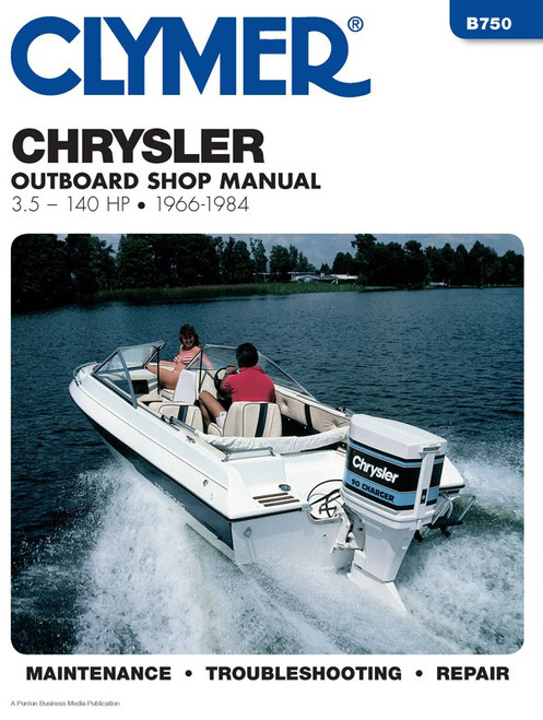 Clymer 1966-1984 Chrysler 3.5-140HP Outboards Repair Manual