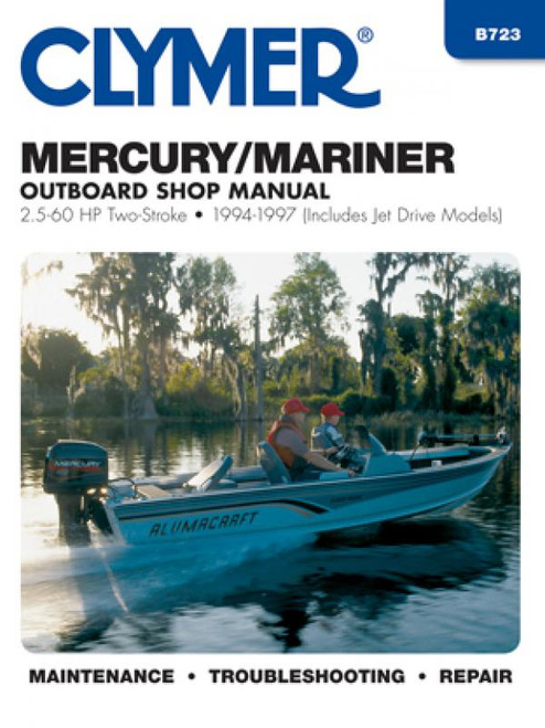Clymer 1995-1997 Mercruiser, Alpha One, Bravo One, Bravo Two & Bravo Three Stern Drives Repair Manual