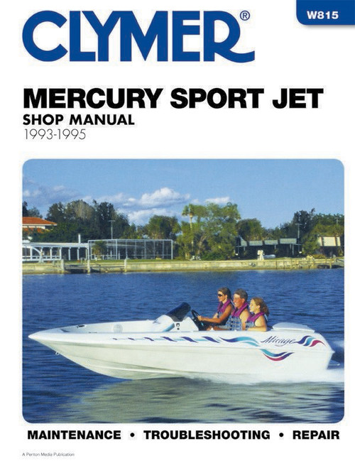 Clymer 1993-1995 Mercury Sport Jet 90-120HP Repair Manual