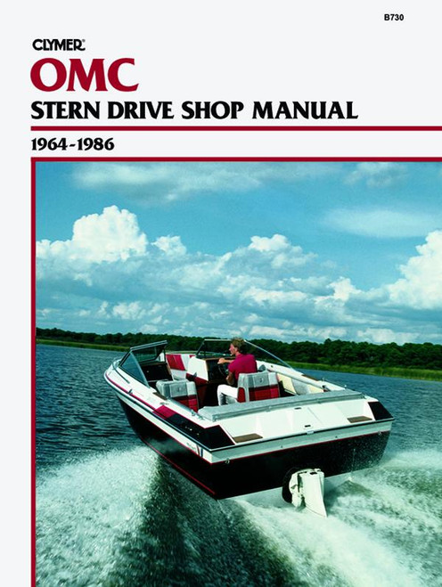 Clymer 1964-1986 OMC, Stern Drives Repair Manual