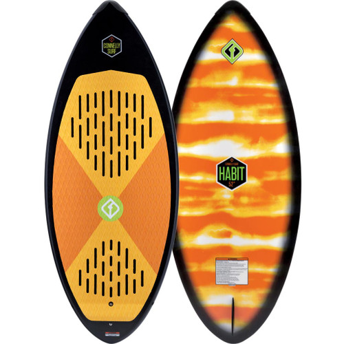 """2018 Connelly Habit Wakesurf Board 52"""" Product Image"""